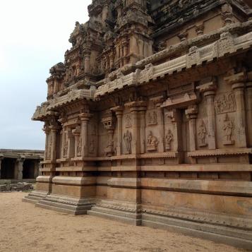 Carvings depicting Ramayana